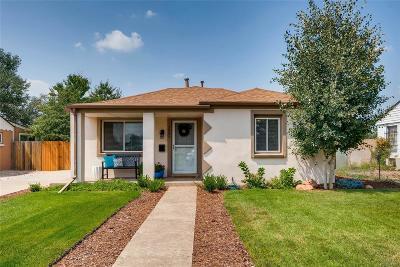 Denver Single Family Home Active: 3881 Colorado Boulevard