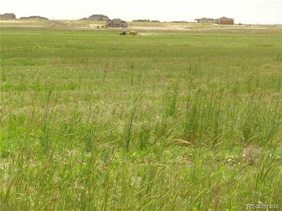 Adams County Residential Lots & Land Active: 30812 East 168th Avenue