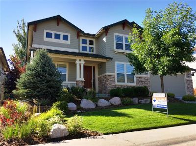Castle Pines Single Family Home Under Contract: 6990 Winter Ridge Lane