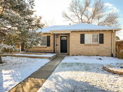 Denver Single Family Home Active: 3650 Martin Luther King Boulevard