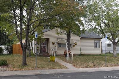 Aurora Single Family Home Active: 1057 Galena Street
