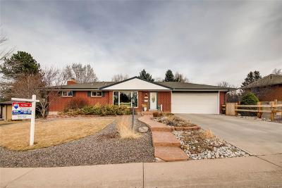 Centennial Single Family Home Active: 6176 South Adams Drive