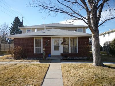 Denver CO Condo/Townhouse Active: $229,500