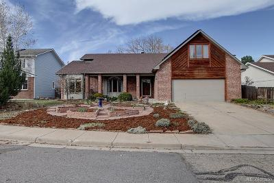 Boulder Single Family Home Under Contract: 5467 Crestone Circle