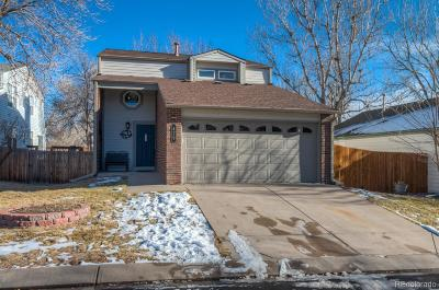 Littleton Single Family Home Under Contract: 429 West Jamison Circle