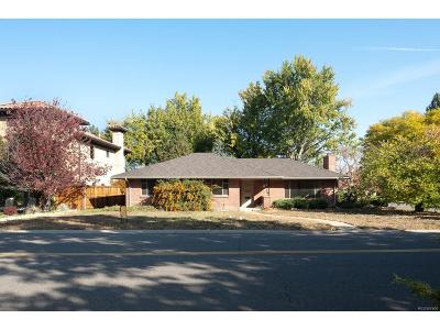 Denver Single Family Home Under Contract: 155 Southmoor Drive