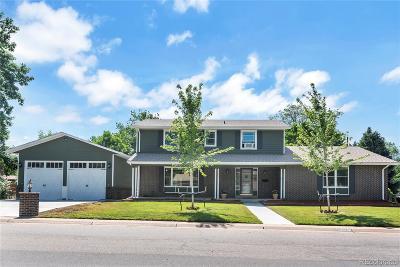 Centennial Single Family Home Active: 6607 South Franklin Street