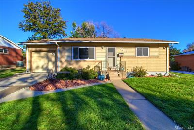Arvada Single Family Home Active: 6588 Lewis Street