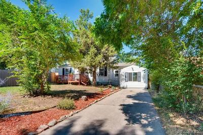 Englewood Single Family Home Active: 3079 South Ogden Street
