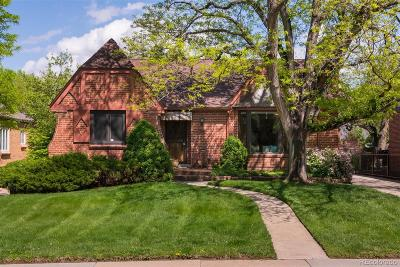 Denver Single Family Home Active: 708 Glencoe Street