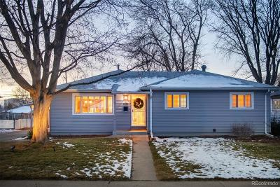 Denver Single Family Home Active: 1781 South Forest Street
