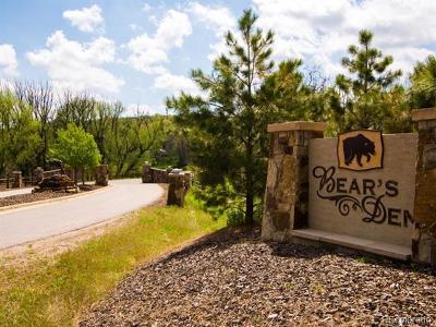Sedalia Residential Lots & Land Active: 3750 Bears Den Court