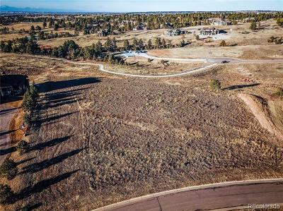 Colorado Golf Club Residential Lots & Land Active: 8551 Lost Reserve Court
