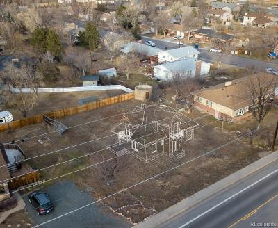 Wheat Ridge Residential Lots & Land Under Contract: 11645 West 32nd Avenue