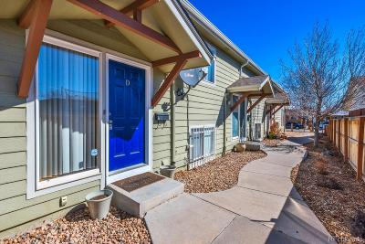 Denver Condo/Townhouse Active: 965 Wolff Street #D
