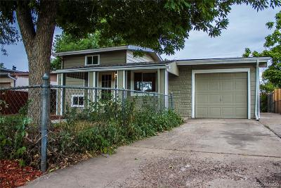 Commerce City Single Family Home Under Contract: 6610 Albion Street