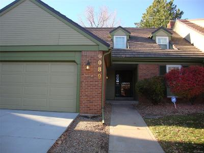 Centennial Condo/Townhouse Under Contract: 6089 East Briarwood Drive