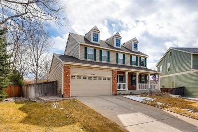 Highlands Ranch Single Family Home Under Contract: 2768 Golden Eagle Court