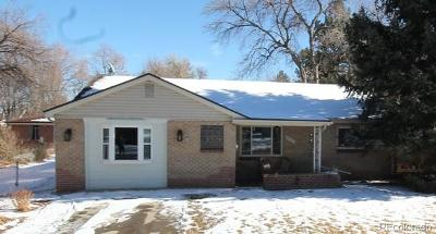 Wheat Ridge Single Family Home Under Contract: 3540 Fenton Street