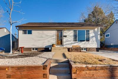 Denver Single Family Home Active: 4571 West Virginia Avenue