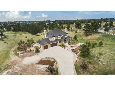 Parker Single Family Home Under Contract: 8405 Homestead Road