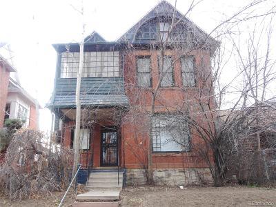 Single Family Home Under Contract: 1439 Saint Paul Street