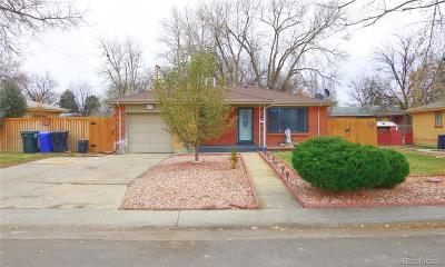 Aurora Single Family Home Active: 3136 Salem Street