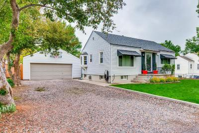 Wheat Ridge Single Family Home Under Contract: 4055 Depew Street