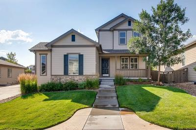 Castle Rock Single Family Home Under Contract: 2749 Breezy Lane