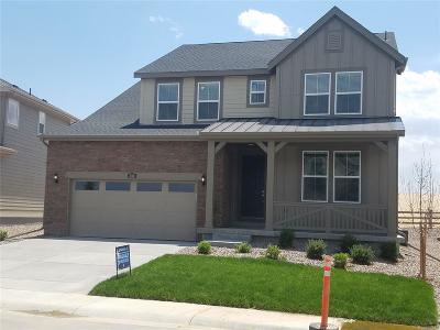 Castle Pines CO Single Family Home Under Contract: $584,900