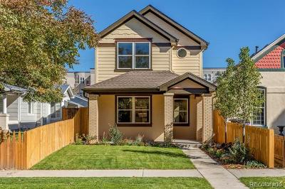 Denver Single Family Home Active: 256 Acoma Street