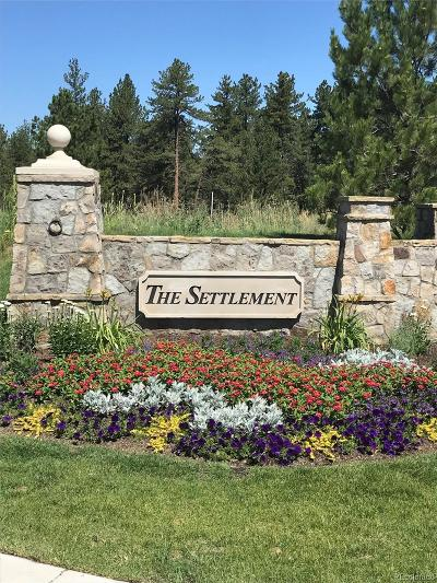 Castle Pines Village Residential Lots & Land Active: 1203 Wildcat Bend Court