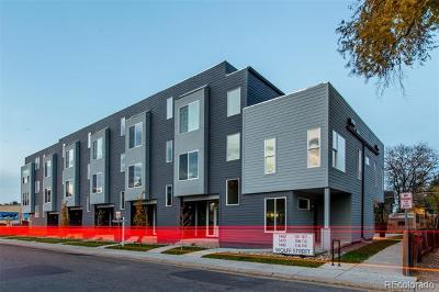 Denver Condo/Townhouse Active: 1460 Wolff Street #104
