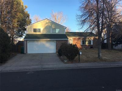 Aurora Single Family Home Under Contract: 2254 South Eagle Street