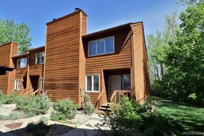 Boulder Condo/Townhouse Under Contract: 3557 Spring Creek Place