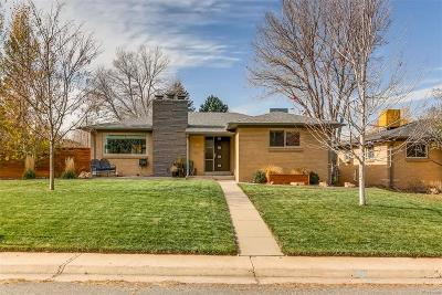 Denver Single Family Home Under Contract: 1595 South Jersey Street