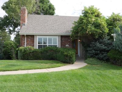 Willow Creek Single Family Home Under Contract: 7576 South Rosemary Circle