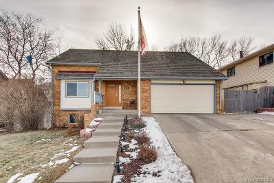 Arvada Single Family Home Under Contract: 6972 West 81st Avenue