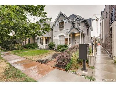 Denver Multi Family Home Active: 1828 Clarkson Street