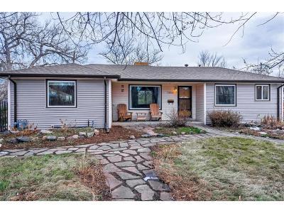 Wheat Ridge Single Family Home Under Contract: 2640 Lamar Street