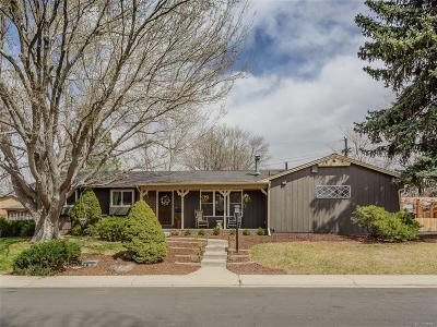 Denver Single Family Home Active: 1592 South Flamingo Way