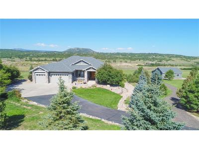 Castle Rock Single Family Home Active: 4781 Mariposa Road