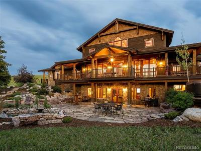 Steamboat Springs Single Family Home Active: 38600 Klein Road