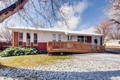 Northglenn Single Family Home Under Contract: 1582 Truda Drive