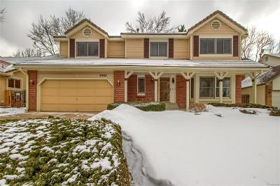 Arapahoe County Single Family Home Active: 2483 South Oakland Circle