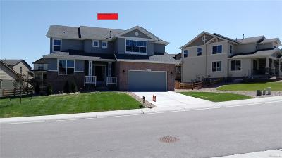 Castle Rock Single Family Home Under Contract: 575 Sage Grouse Circle