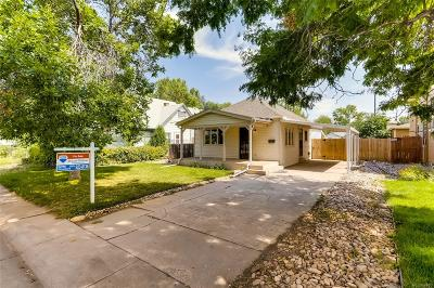Englewood Single Family Home Active: 3024 South Elati Street
