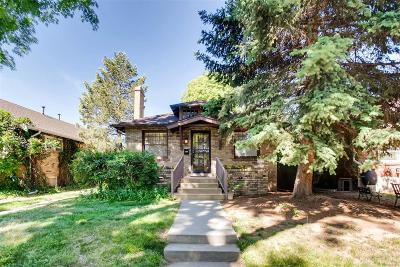 Denver Single Family Home Active: 1565 Glencoe Street