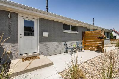 Denver Condo/Townhouse Active: 3633 Lipan Street