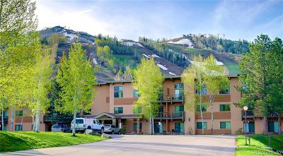 Steamboat Springs Condo/Townhouse Active: 2375 Storm Meadows Drive #416